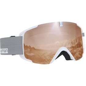 Salomon Xview Goggles white